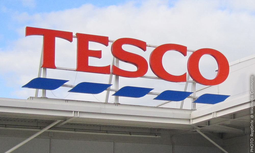 Tesco pledges to remove cages from their egg supply chain.