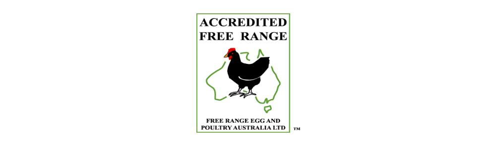 Free range chicken label